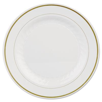 WNARSM101210WSP - $15.99 - Masterpiece Plastic Dinnerware, White ...