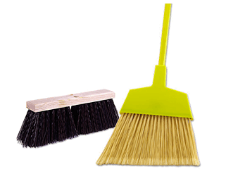 Brooms & broom equipment