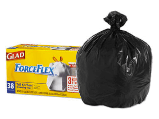 Can liners & garbage bags