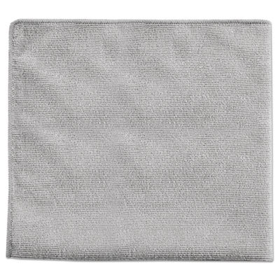 Rubbermaid Commercial Executive Multi-Purpose Microfiber Cloths, Gray