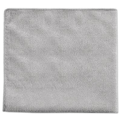 Rubbermaid Commercial Executive Multi-Purpose Microfiber Cloths, Gray
