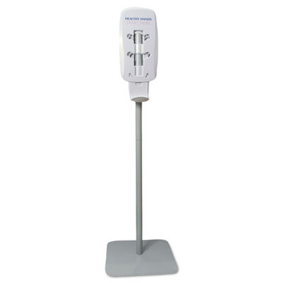 Purell hand sanitizer dispenser floor stand in gray